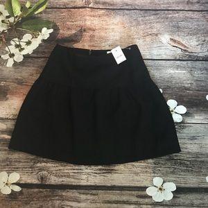NWT J. Crew Factory Crepe Flounce Skirt - 160
